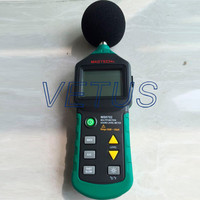 New MASTECH MS6702 Digital Sound Level Meter Noise Meter dB Decible Meter Tester Temperature Humidity Meter Thermometer