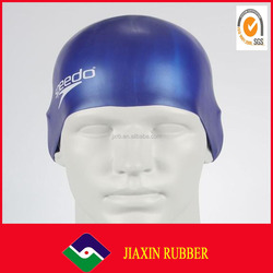 Professional swimming hat manufacturer Adult custom logo silicone swim caps