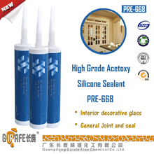 General Joint And Seal Acetic Liquid Silicone Sealant PRE-668