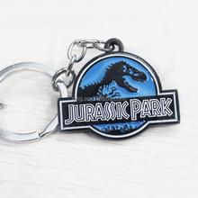 Jurassic Park Theme Symbol Keyring Alloy Dragon Key Chain