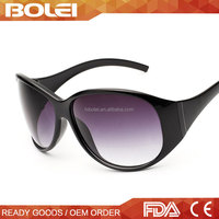 China Cheap Wholesale 2015 Fashionable Goggle Plastic Simple Sport Sun glasses