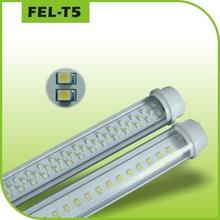 2014 hot selling high brightness g13 base t5 120lm/w led tube