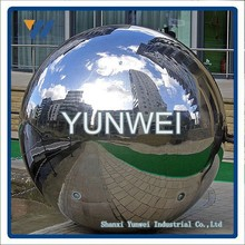 Modern Outdoor Hgh Quality silver finish stainless steel sphere