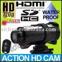720P HD HEMI action sports helmet camera