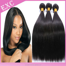 Full cuticle mongolian silky straight virgin hair weave bundles , mongolian straight