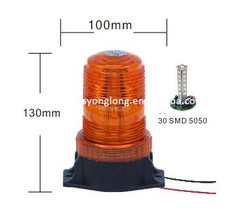 10V-110V strobe flash light Car Led Warning light,Strobe Beacon,LED Strobe Light