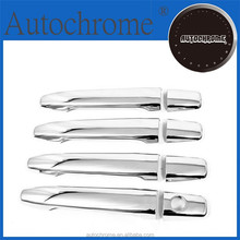 Chrome car trim accent styling gift, Chrome Door Handle Cover Smart for Mitsubishi Lancer EVO X