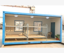 China manufacture luxury flat pack ready made 20ft prefab container house