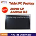 Buena calidad 10 rk3128 pulgadas tableta con webcam wifi bluetooth android g- sensor de color rosa china fabricante de tablet