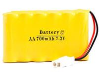 NI-CD AA 700mah 7.2V Rechargeable Battery Pack