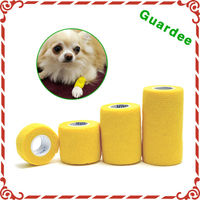 4 Inch x 5 Yards Printed Flexible Bitter Vet Wrap Pet Dog Cohesive Bandage