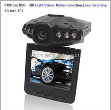 Full high quality full hd 1080p car DVR Camera H198 universal car dvr camera for cars