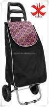 600D polyester with PVC coating shopping trolley bag/trolley bag/shopping carts