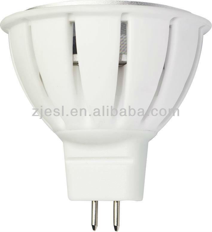 hecho en china blanco de la vivienda de cerámica de alta potencia 3x1w llevó la lámpara lugar