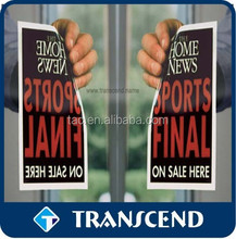 print Car window cling stickers/Promotional Customized Static Window Cling Sticker