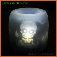 Sound Sensor Halloween LED Flashing Candle