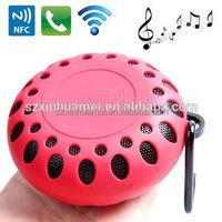 waterproof outdoor wireless speaker with hook for backpack, good price wireless speaker for out door activities