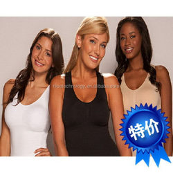 Hot sell wholesale women underwear seamless camisole shaping tank top