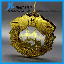2015 3D New design 0.3mm thickness Etched Brass Ornaments