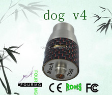 2015 new product mechanical carbon fiber dog v4 cf rda dog v4 atomizer doge v4 rda
