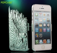 2015 newest angle wings PC case for iphone 5 cover