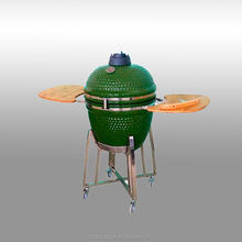Charcoal grill no smoke 21Inch heat resistance ceramic green egg kamado pro