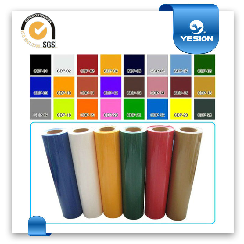 Hot sell rollo vinilo autoadhesivo con 35 tipos de colores for Papel vinilo adhesivo