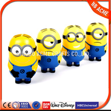 China direct factory top quality funny action figure minion despicable me minion / Pu stress soft toys minion