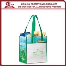Fashion Non Woven Tote Bag/Polyester Tote Bag/Matte Laminated EURO Tote Bag