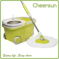 China Manufacture twister mop easy mop bucket walkable mop