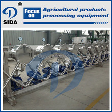Small scale casabe starch production machine