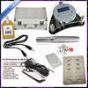 Acrylic permanent tattoo eyebrow machine kits, digital handpiece eyebrow makeup kit