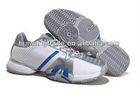 Huiwang factory direct sale 2013 men fashionable & professional tennis shoes high top wholesale cheap brand name tennis shoes