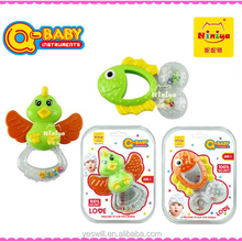 Q-BABY plastic baby wrist rattle toys hot sale
