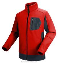 Waterproof field softshell jacket men