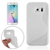 S Line Frosted Protective TPU cell phone case for S6 Edge