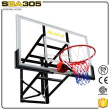 Wall Fixed Basketball Acrylic Backboard with Padding ,basketball backboard pad