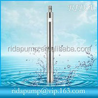 1.25 inch 2 inch 3inch Deep well pump /submersible borewell water pump