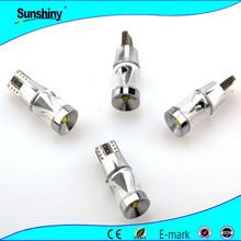 Auto bulb lamp t10 t20 t13 t15 t5 canbus t10 w5w T10 crees canbus led