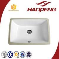 C041 Ceramic American Standard Under Counter Wash Basin Wooden Cabinet Square Sink