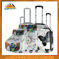 2015 New Design Light Weight Animal Print Luggage