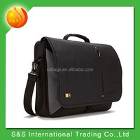 new design 17.5 inch laptop messenger bag made in China