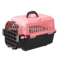 Hot sale big American style plastic flight pet carrier /dog crate CA002
