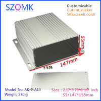 Electrical waterproof aluminum junction box with all kinds of sizes 155x147x55mm