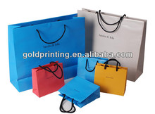 Apparel paper packaging bags