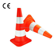 WARNING SOLAR LIGHTS can be attached directly on the traffic cone