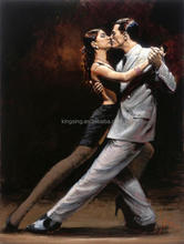 Abstract Art Drawings Dance Couple Painting