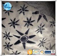New design cotton polyester fabric slip cord fleece fabric with garment
