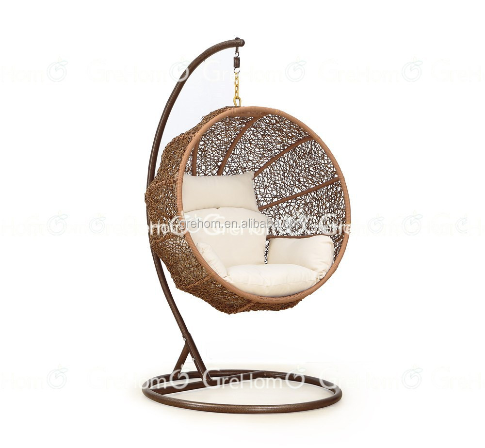 Rattan Furniture Egg Shaped Wicker Hanging Swing Chair Buy Egg Shaped Swing Chair Wicker