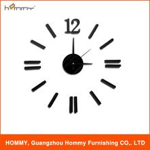 DIY wall clock, creative 3d wall clock, hot selling clock from China supply